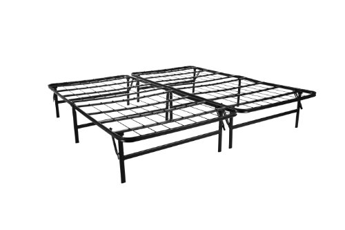 Lucid® by LinenSpa Foldable Metal Platform Bed Frame and Mattress Foundation