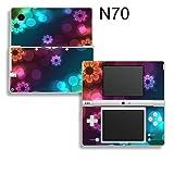 Taylorhe Skins Nintendo DSI Slim Decal/ pretty flowers