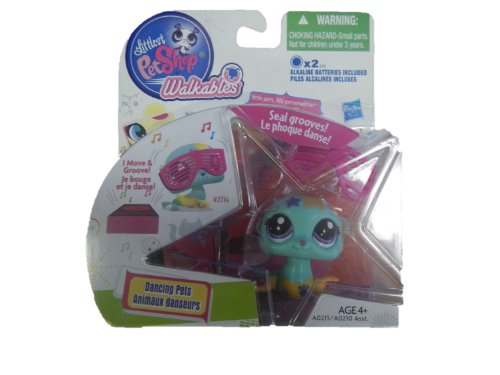 Littlest Pet Shop Walkable Dancing Pet- Seal - 1