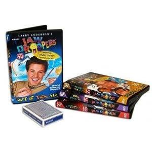 Jaw Droppers 4 dvd Magic Set with magic svengali deck