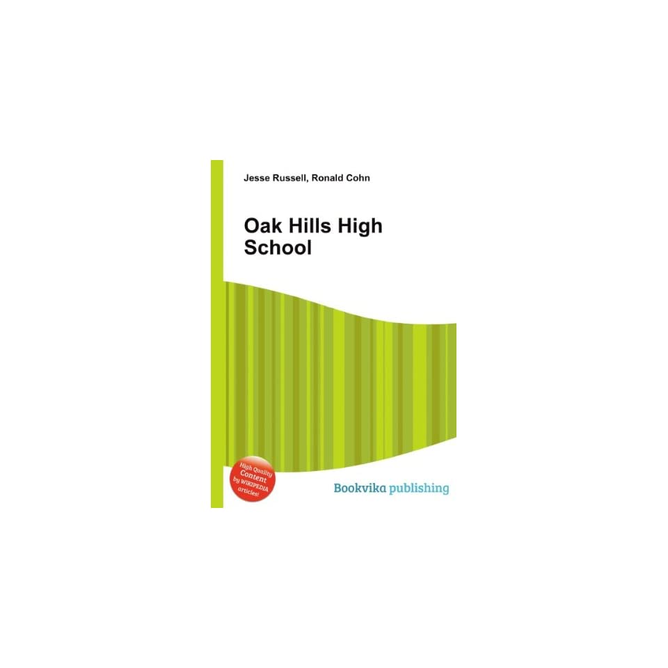 Oak Hills High School Ronald Cohn Jesse Russell Books