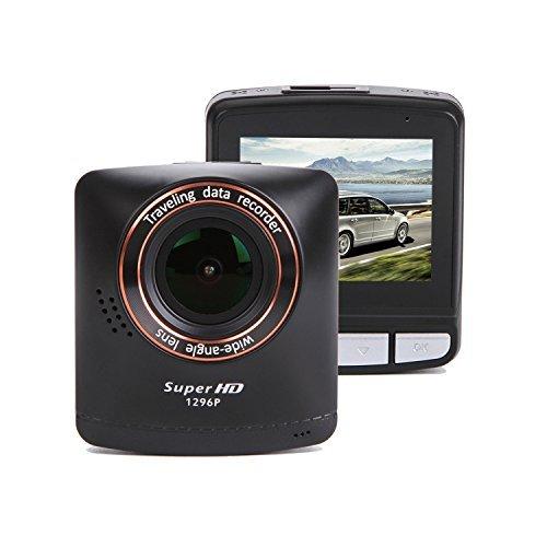 SmarTure-B200-Dash-Cam-1296P-Super-HD-Auto-Armaturenbrett-Kamera-Ambarella-A7LA50-Prozessor-24-Zoll-LCD-140--Weitwinkel-mit-WDR-HDR-Super-Night-Vision-Nahtlose-Loop-Recording
