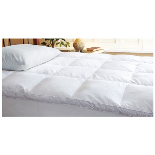 Blue Ridge Home Fashion Classic 233 Thread Count Cotton Featherbed, Twin (Blue Ridge Home Fashions Inc compare prices)