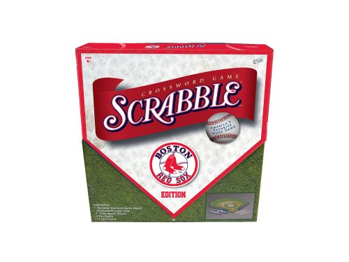 Boston Red Sox Scrabble® - Buy Boston Red Sox Scrabble® - Purchase Boston Red Sox Scrabble® (Sababa Toys, Toys & Games,Categories,Games,Board Games,Word Games)