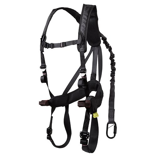Gorilla Gear 77553 G-TAC Air Women's Safety Harness, Black
