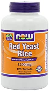 Amazon.com: NOW Foods Red Yeast Rice Extract 1200mg, 120