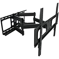 MegaMounts Full Motion Double Articulating Wall Mount
