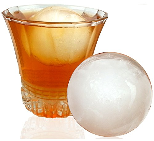 Ice Ball Mold - Steal These Massive Ice Ball Makers - DeluxIce Ice Ball Maker (Ice Ball Maker Macallan compare prices)