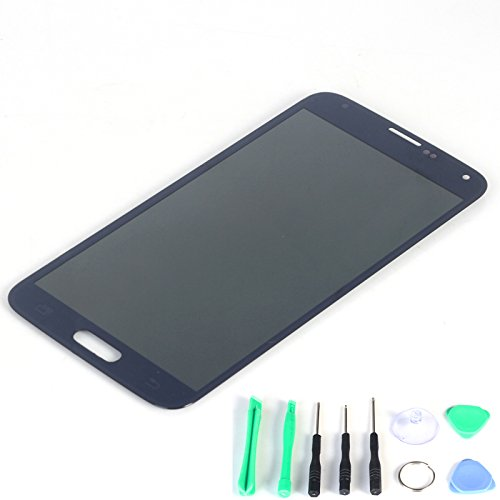Generic Lcd Display Touch Screen Digitizer Assembly For Samsung Galaxy S5 I9600 G900R G900F G900H G900M G9001 Black