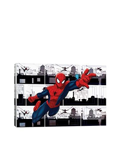 Marvel Ultimate Spider-Man Swinging Gallery-Wrapped Canvas Print