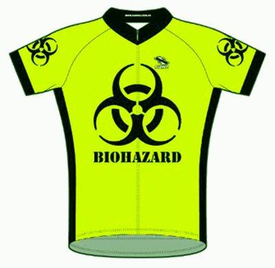 Buy Low Price Suarez Biohazard Bright Lime Green (yellow/green tone) Cycling Jersey Men's Shortsleeve (B008E9U14O)