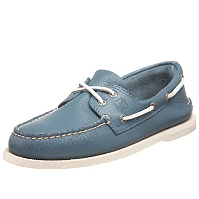Sperry Top-Sider Men's Authentic Original 2-Eye Boat Shoe,Blue Ice,9 M US