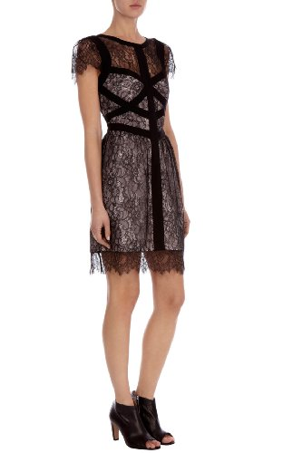 Delicate Lace Panelled Dress