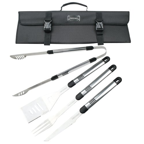 Top Chef by Master Cutlery BBQ Set, 5-Piece
