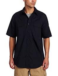 5.11 Tactical #71175 TacLite Pro Short Sleeve Shirt (Dark Navy, Large)