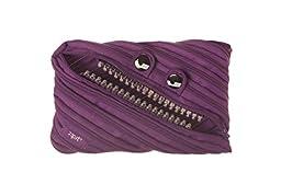 ZIPIT Grillz Jumbo Pencil Case, Purple