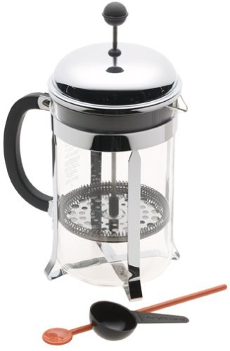 Bodum Pour Over Coffee Maker Directions : Cheap Bodum Chambord 12 Cup Glass French Coffee Press