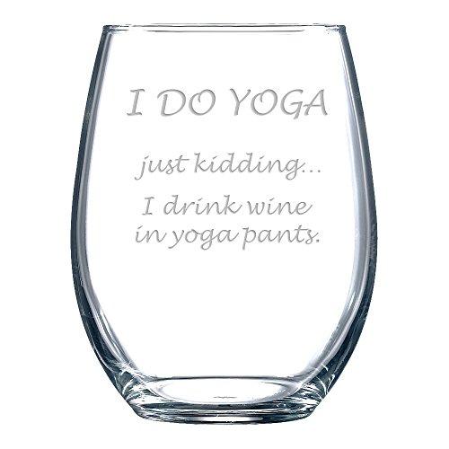 novelty wine glasses
