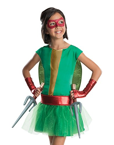 Rubies Teenage Mutant Ninja Turtles Deluxe Raphael Tutu Dress Costume