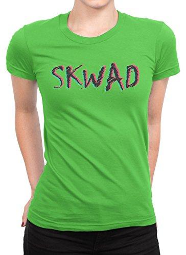 onetwotee -  T-shirt - Donna verde XXL