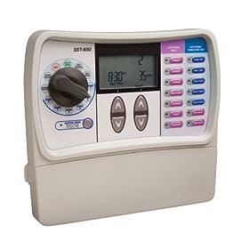 Rain Bird SST-600I Simple Set 6-Station Indoor Automatic Sprinkler System Timer