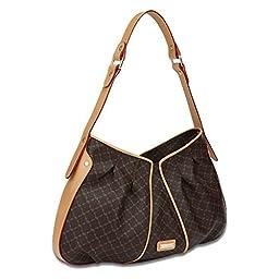 Signature Iris Bag Color: Brown