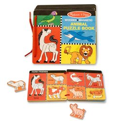 Melissa & Doug - Animal Puzzle Book - 1