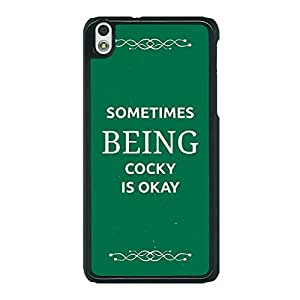 Jugaaduu SUITS Quotes Back Cover Case For HTC Desire 816