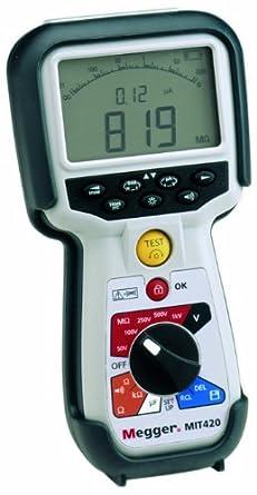 Megger MIT400 Series Premium Telecom and CATV Digital/Analog Insulation Tester