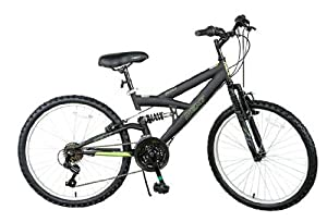 "24"" Next PX 4.0 Boys' Mountain Bike, Black"