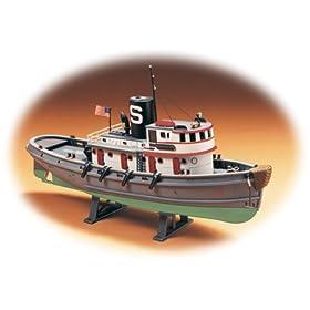 Lindberg 1/87 scale Diesel Tug Boat