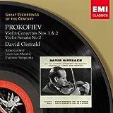 プロコフィエフ:ヴァイオリン協奏曲第1番&第2番/ヴァイオリン・ソナタ第2番