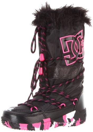 DC Kids Chalet 2.0 Boot (Little Kid/Big Kid),Black/Pink,Small (2.5-3.5 M US Little Kid)