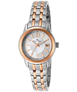 Lucien Piccard Women's LP-12750-SR-22S Moiry Analog Display Swiss Quartz Two Tone Watch by Lucien Piccard