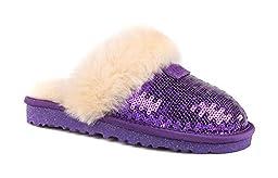 UGG Kids Girl\'s Dazzle (Little Kid/Big Kid) Purple Reign Slipper 5 Big Kid M