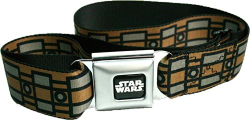 Star Wars Seatbelt Belt - Chewbacca Wookie Belt Design