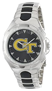 NCAA Mens COL-VIC-GT Victory Series Georgia Tech Yellow Jackets Watch by Game Time