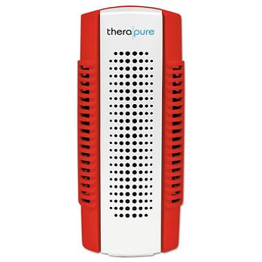 Therapure IONTPP50RED Uses UV Light Technology Mini Plug-In Blade Air Purifier, Red (Therapure Uv Air Purifier compare prices)