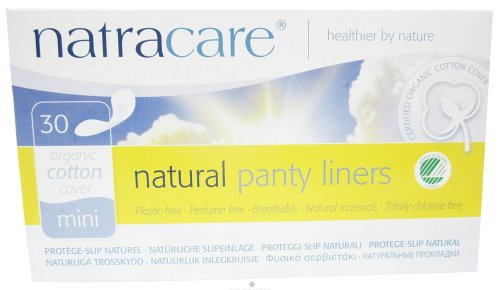 NATRACARE PANTY LINER,MINI 30 CT 1-EA
