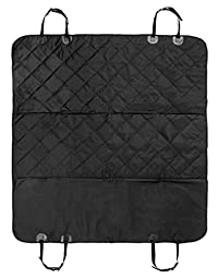 Car Seat Covers for Dogs, Cats and Pets With Nonslip Rubber Backing. Use as Canopy or Hammock. Fits Most Car Models. Protect Your Seats Now!