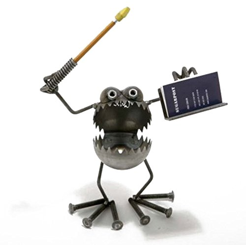 Gnome Be Gone Business Card & Pen Holder