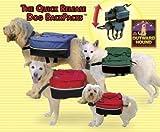 Outward Hound Quick Release Dog Backpack Black - Medium