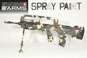 Swiss Arms Peinture pour répliques en métal et plastique Vert Otan 400 ml