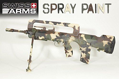 swiss arms peinture pour r 195 169 pliques en m 195 169 tal et plastique vert otan 400 ml
