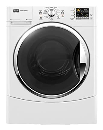 Maytag MHWE301YW Performance 3.5 Cu. Ft. White Stackable Front Load Washer - Energy Star