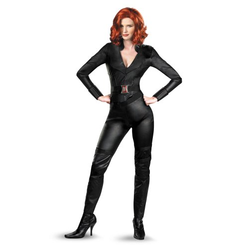 Black Widow Avengers Movie Deluxe Adult Size:Small