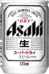 アサヒ スーパードライ 135ml×24缶(1ケース)