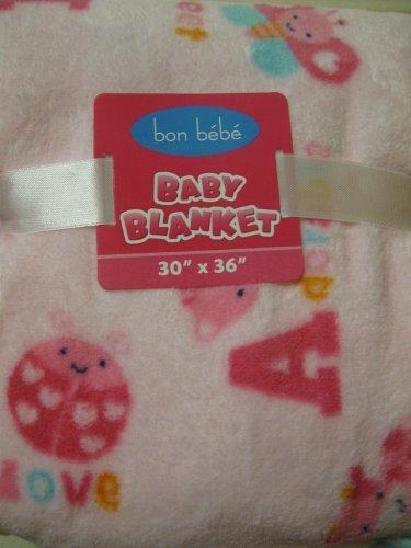 Bon Bebe Baby Girl Soft Pink Blanket