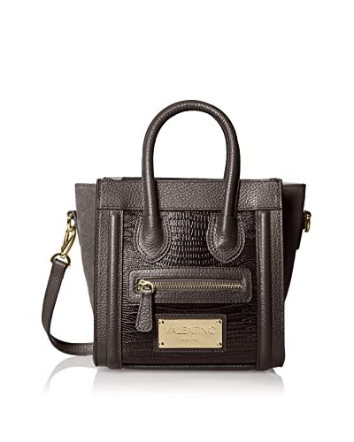 Valentino Bags by Mario Valentino Women's Leidy Cross-Body, Grey