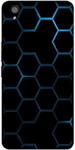 Snoogg Honeycomb Systemology Solid Snap On - Back Cover All Around Protection...